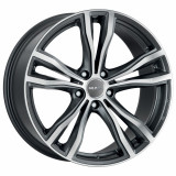 Jante BMW X6 M Performance Staggered 9J x 19 Inch 5X120 et37 - Mak X-mode Gun Met-mirror Face - pret / buc, 9, 5