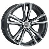 Cumpara ieftin Jante BMW X6 Staggered 11J x 20 Inch 5X120 et37 - Mak X-mode Gun Met-mirror Face - pret / buc