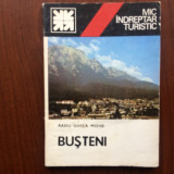 busteni mic indreptar turistic rodu ghica moise editura sport turism 1983 harta