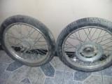 ROTI COMPLETE bicicleta, motocicleta/motoreta/moped/scuter Vechi JAWA,T.GRATUIT