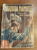 Marturia maimutei - Bruce Harrison