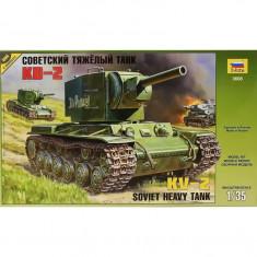 + Kit scara 1/35 Zvezda 3608 - KV-2 Soviet Heavy Tank +