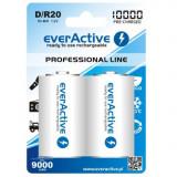 R20 D 10000mAh baterie reincarcabila everActive Professional Conținutul pachetului 1x Blister