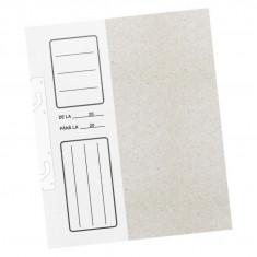 Dosar de încopciat economy cu gheare 1/2 Alb alb