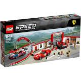 LEGO® Speed Champions - Garajul Suprem Ferrari 75889