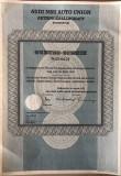Certificat Audi cu 7 cupoane