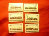 Serie Romania 1979 - Locomotive romanesti IVA '79, 6 valori