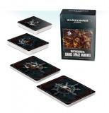 "Carti Datacards Miniaturi Warhammer 40k, Games Workshop, ""Datacards: Chaos Space Marines 2"""