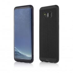 Husa Telefon Plastic Samsung Galaxy S8 Plus g955 Black Clip-on Vetter