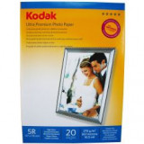 Hartie foto Kodak 5R 13 X 18 RC Ultra Premium High Glossy 270g/mp pachet 20 coli