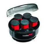 Set 5 bigudiuri electrice Babyliss Pro, 200 W, 40 mm, invelis ceramica/catifea