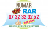 Numar RAR LUX VIP - special aur usor gold platina numere cartela usoare cartele