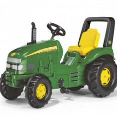 Tractor Cu Pedale 3-10 ani Rolly Toys Verde