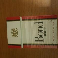 Pachet gol tigari BOND din anii 80