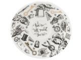 Ceasca cu farfurie - Alice in Wonderland   Creative Tops