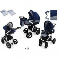 Carucior pentru copii 3 in 1 Krasnal Nexxo N5