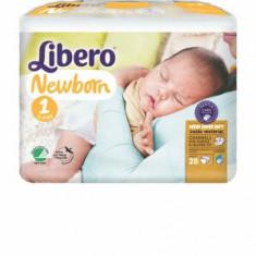 Scutece Libero,New Born, nr.1, 2-5 kg, 28 bucati