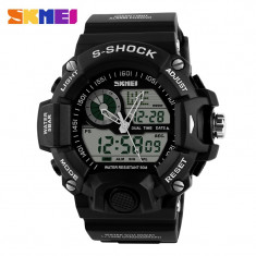 Ceas SUBACVATIC SKMEI S-Shock 4 Sport Japan Alarma Calendar DUAL TIME CALITATE