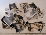 LOT 50 POZE / FOTOGRAFII VECHI ALB NEGRU