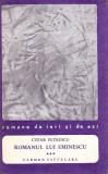 Romanul lui Eminescu, vol. III. Carmen Seculare