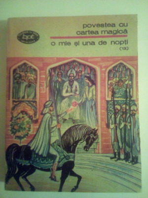 Bpt 858 1001 nopti vol 13 povestea cu cartea magica foto