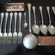Tacâmuri austro-ungare de argint masiv