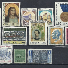 ITALIA – TIMBRE NESTAMPILATE TEMATICE, LOT191