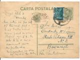 carte postala- INTERBELICA-Carol al-II-lea 3.5 Lei 1937