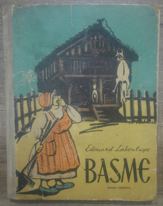 Basme - Edouard Laboulaye/ ilustratii Tia Peltz