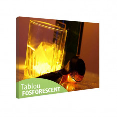 Tablou fosforescent Set de whisky