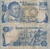 1982 , 2 pula ( P-7c ) - Botswana