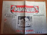 ziarul papagalul 18 martie 1945-ziar de satira si umor