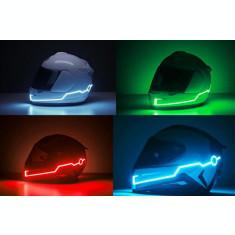 Kit lumini banda LED casca moto set 2 bucati AL-060820-2