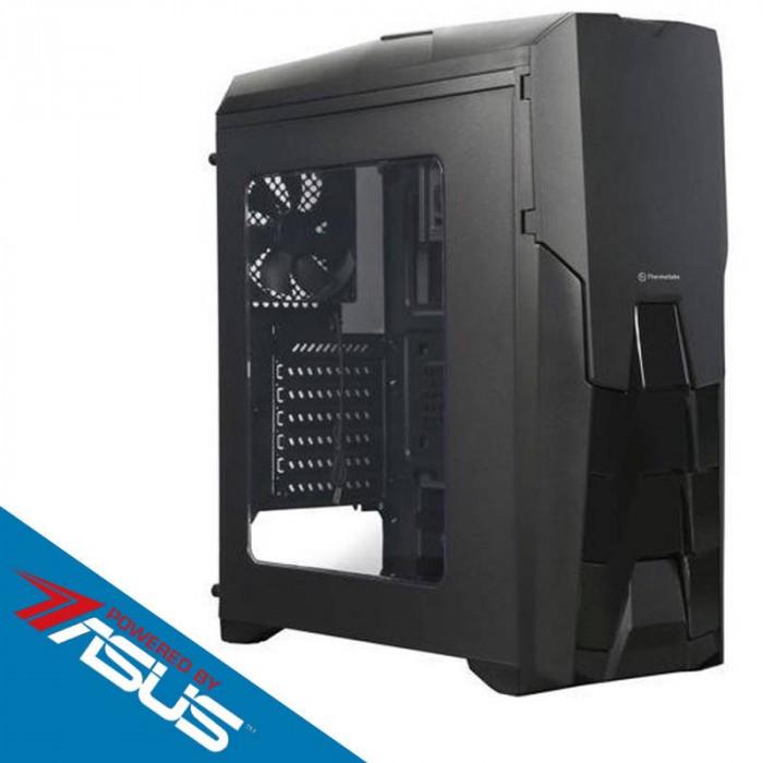 Sistem Gaming Fusion Pro V2 Powered by ASUS Intel Core i5-6600K Quad Core 3.5 GHz 8GB DDR4 1TB HDD Placa video Asus AMD Radeon RX 570 STRIX GAMING O4G