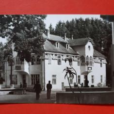 CARTE POSTALA SANGEORZ BAI × RPR 1955 timbru deslipit, Circulata, Printata
