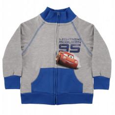 Hanorac Cars Disney, Gri/Albastru, pentru baieti