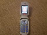 Cumpara ieftin Telefon dame clapeta Samsung E710 Blue Liber retea Livrare gratuita!