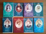 colectia  Casa Regala (Humanitas) - 7 tiluri (Carol I, Ferdinand, Mihai,Missy,