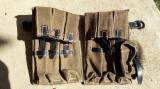 Portincarcatoare Schmeisser MP40 culoare oliv, Wehrmacht,Waffen-SS ,WW2,airsoft1