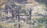 Pictura veche - Alexandru Moser Padina, Peisaje, Ulei, Impresionism