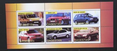 Dagestan-1998-Automobile -1 M/SH NEOBLITERATA -PLR 141 foto