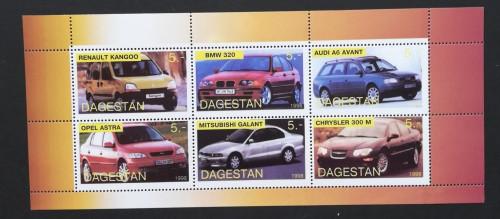 Dagestan-1998-Automobile -1 M/SH NEOBLITERATA -PLR 141