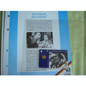 3 Cartele Telefonice 50 Jahre Deutschland - Exponate NOI / 21