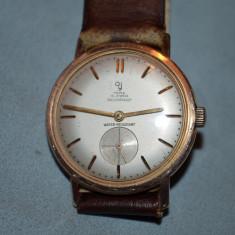 CEAS YEMA - Placat cu aur - Mecanic - 15jewels - WR - Shockproof - Vintage !