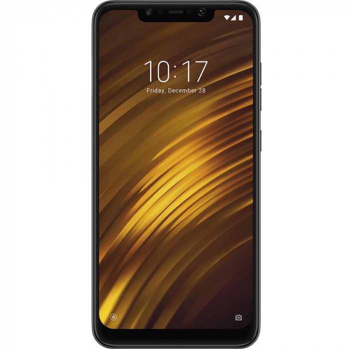 Smartphone Xiaomi Pocophone F1 64GB 6GB RAM Dual Sim 4G Black