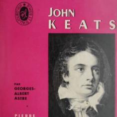 Vie et oeuvres de John Keats – Georges-Albert Astre