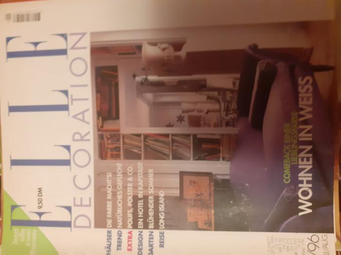 Casa vogue, Art et Antiques, Elle decoration, reviste