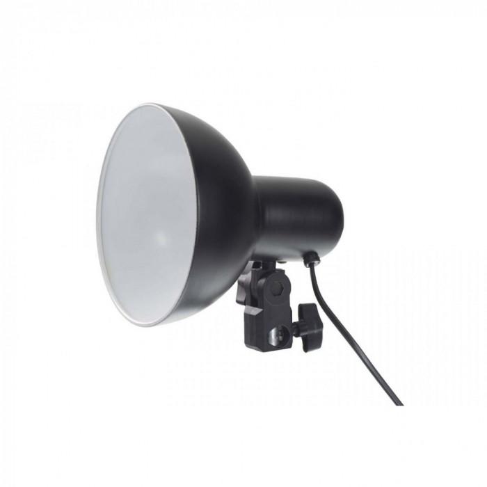 Lampa foto-video metalica pentru bec E27