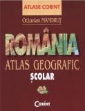 Romania - Atlas Geografic Scolar | Octavian Mandrut, Corint