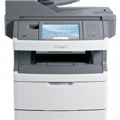 Imprimanta Multifunctionala laser monocrom Lexmark x463de, A4, Duplex, Retea, Copiator, Scaner, Usb, cartus NOU 15000 pagini, drum unit NOU